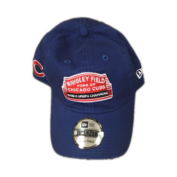 0147ea2a Chicago Cubs New Era Wrigley Field Adjustable Hat NWT